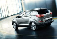 2011 Kia Sportage, side view, exterior, manufacturer