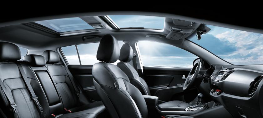 2011 Kia Sportage Interior. 2011 Kia Sportage, seating