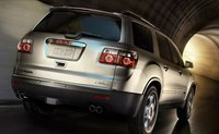 2011 GMC Acadia, back three quarter view , manufacturer, exterior