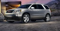 2011 GMC Acadia, front three quarter view , manufacturer, exterior