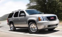 2011 GMC Yukon, front three quarter view , manufacturer, exterior