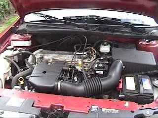 2005 Chevrolet Classic 4 Dr STD Sedan, Angle View of Nice clean engine w/ intake and battery shown., engine