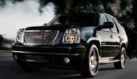 2011 GMC Yukon Denali Hybrid, front three quarter view , exterior, manufacturer
