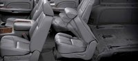 2011 GMC Yukon Denali, folding seats , interior, manufacturer