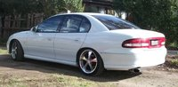 2000 Holden Commodore, removed all the grey trim and painted the skirts and front and rear bars...cant wait for the bodykit!, exterior