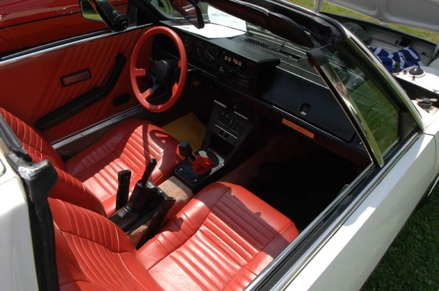 1989 FIAT X1/9 - Interior Pictures - CarGurus
