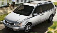 2011 Kia Sedona, front three quarter view , exterior, manufacturer