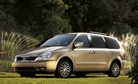 2011 Kia Sedona, front three quarter view , manufacturer, exterior