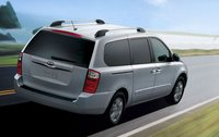 2011 Kia Sedona, back three quarter view , manufacturer, exterior