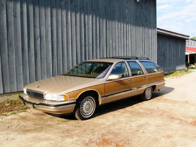 1993 Buick Roadmaster Estate Wagon. 1991 Buick Roadmaster 4 Dr