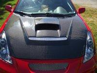 2000 Toyota Celica GTS Hatchback, Hood en Carbone   Carbon Creation, exterior