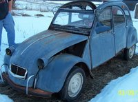 1967 Citroen 2CV Overview