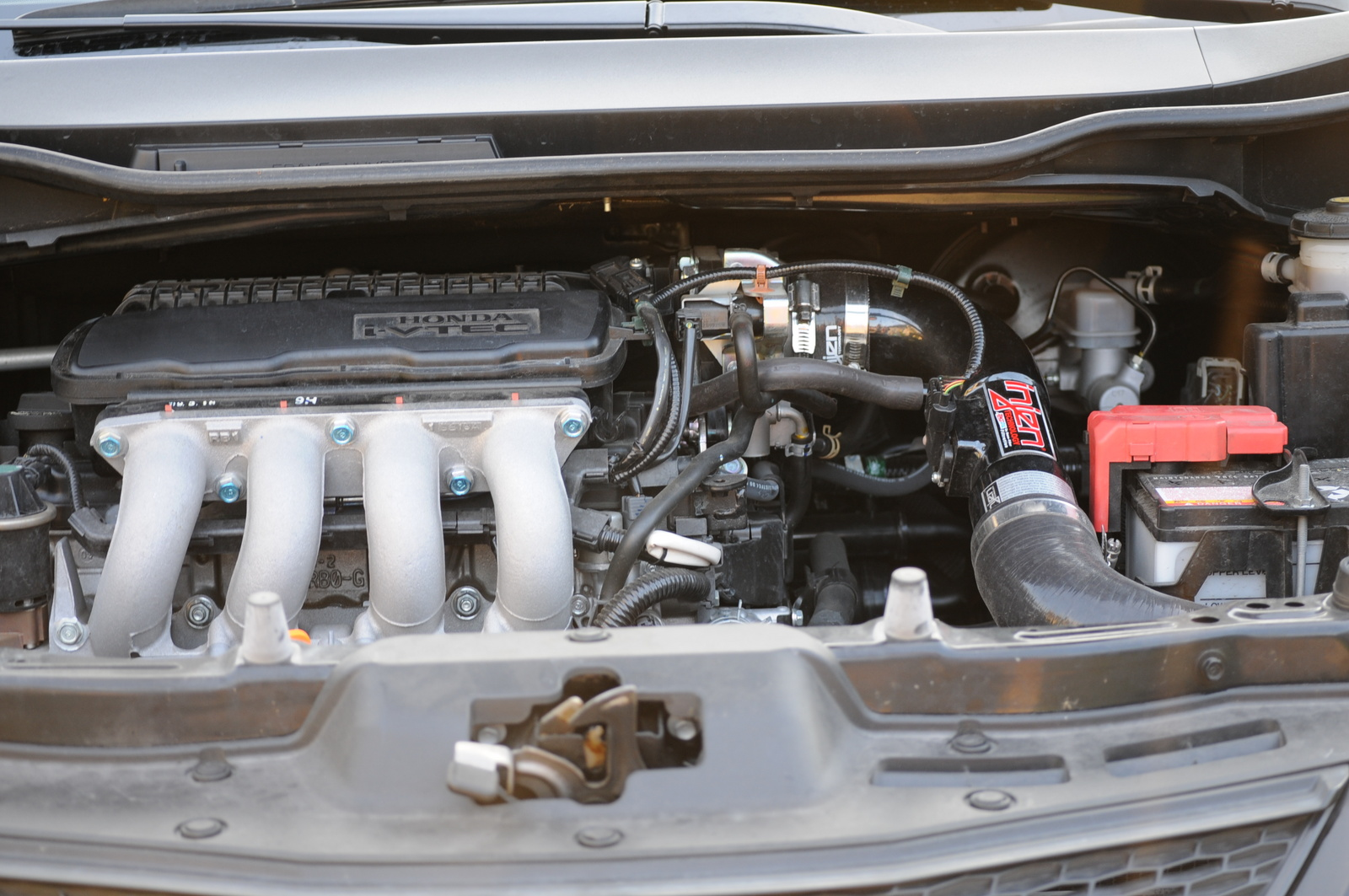 2009 Honda Fit Base picture, engine