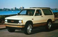 1991 GMC S-15 Jimmy Overview