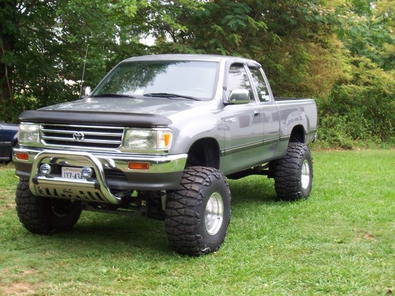 1995 Toyota T100 2 Dr DX 4WD Extended Cab SB, my t100, exterior, gallery_worthy