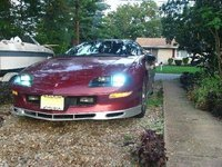 1995 Chevrolet Camaro Base, my camaro with custom 8000k hid's, exterior