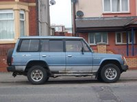 1987 Mitsubishi Pajero, old and stubun just like me, exterior