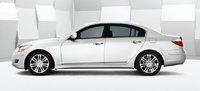 2011 Hyundai Genesis, side view, exterior, manufacturer