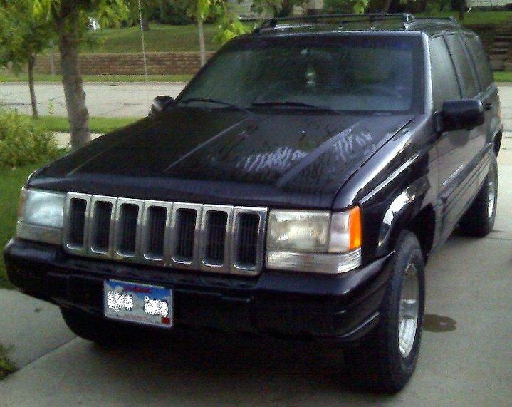1998 Jeep Grand Cherokee 4 Dr Laredo 4WD SUV, 1998 Jeep Grand Cherokee, what