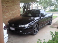 2005 Holden Commodore, My ute with the new mags on it..., exterior
