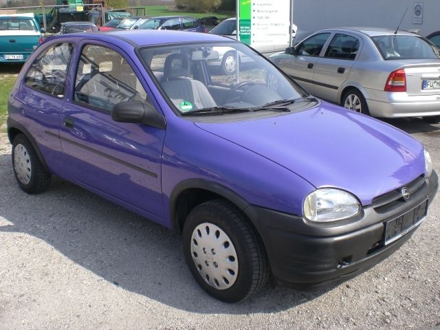 1996 Opel Corsa, The car I owned is not the one in this photo., exterior