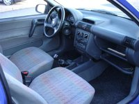 1996 Opel Corsa, The car I owned is not the one in this photo., interior
