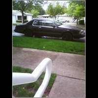 1986 Ford Thunderbird, my car, exterior