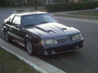 1988 Ford Mustang GT, Buddy painted it for me, exterior
