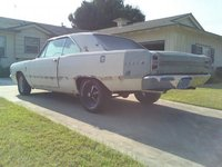 1968 Dodge Dart, its still kinda ugly but its getting better, exterior