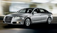 2011 Audi A6, front three quarter view , manufacturer, exterior