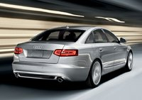 2011 Audi A6, back three quarter view , exterior, manufacturer
