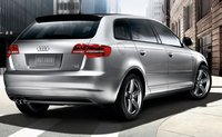 2011 Audi A3, back three quarter view , exterior, manufacturer