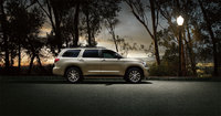2011 Toyota Sequoia, Right Side View, exterior, manufacturer