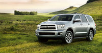2011 Toyota Sequoia, Front Left Quarter View, exterior, manufacturer