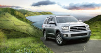 2011 Toyota Sequoia, Front Right Quarter View, exterior, manufacturer