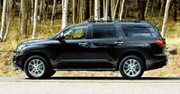 2011 Toyota Sequoia, Left Side View, exterior, manufacturer
