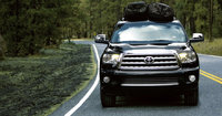 2011 Toyota Sequoia, Front View, exterior, manufacturer