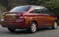 2011 Nissan Versa, Back Right Quarter View, exterior, manufacturer