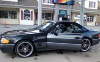 1992 Mercedes-Benz 500-Class 500SL Convertible, Daaaamn I like these wheels on the car., exterior