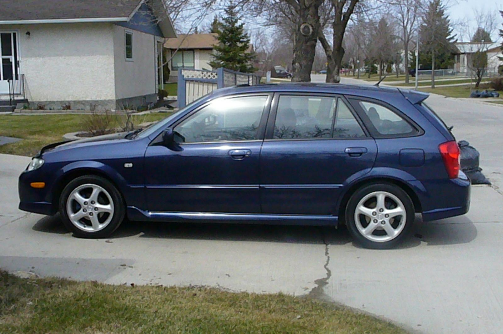 2002 Mazda Protege5 - Pictures - 2002 Mazda Protege5 4 Dr STD W ...