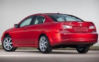 2011 Mitsubishi Galant, Back Left Quarter View, exterior, manufacturer