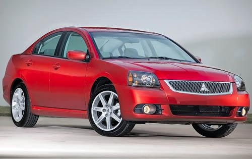 2011 Mitsubishi Galant, Front Right Quarter View, exterior, manufacturer