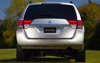 2011 Mitsubishi Endeavor, Back View, exterior, manufacturer