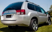 2011 Mitsubishi Endeavor, Back Right Quarter View, manufacturer, exterior