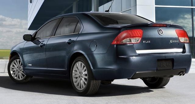 2011 Mercury Milan, Back Left Quarter VIew, exterior, manufacturer