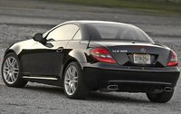 2011 Mercedes-Benz SLK-Class, Back Left Quarter View, exterior, manufacturer