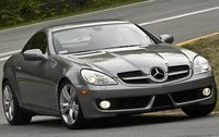 2011 Mercedes-Benz SLK-Class, Front Right Quarter View, manufacturer, exterior