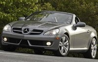 2011 Mercedes-Benz SLK-Class, Front Left Quarter View, exterior, manufacturer