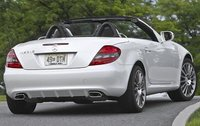 2011 Mercedes-Benz SLK-Class, Back Right Quarter View, exterior, manufacturer