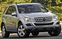 2011 Mercedes-Benz M-Class, Front Right Quarter View, exterior, manufacturer